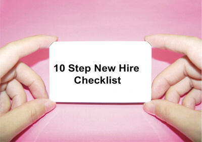 New Hire Checklist