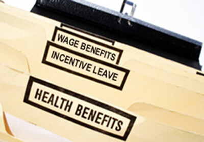 Employee Benefits Package Folders