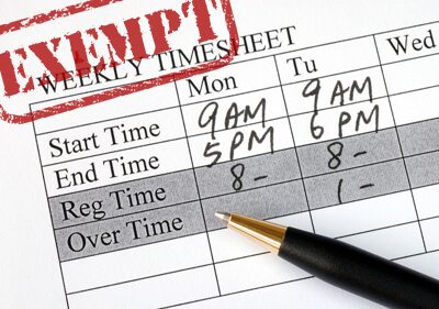 Should Employers Keep Time Records For Exempt Employee(s)?