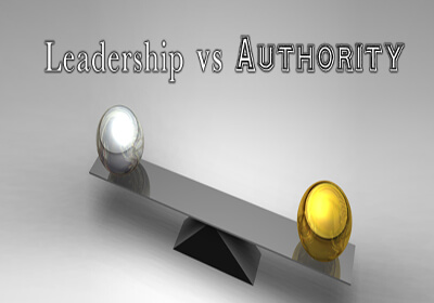 "Distinction Between ""Leadership"" and ""Authority"""