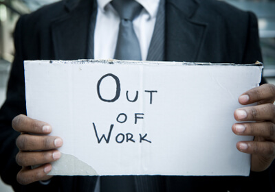 Out of Work Sign