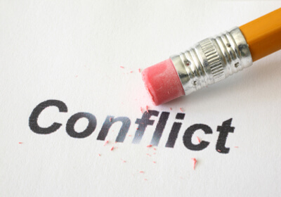 dealing with conflict management When you deal with conflict in a healthy, open manner, you often find a better  solution  the most important quality in resolving a conflict is to shift from  making.